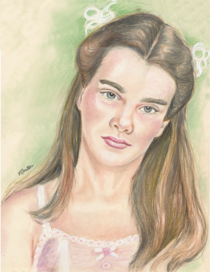 Brooke Shields por Christine